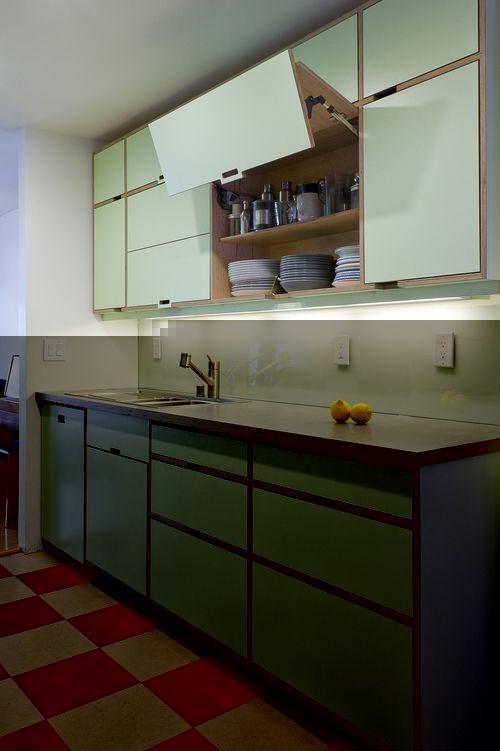 Кухня светло голубая