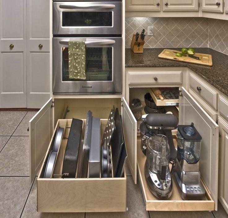 Удобные полочки для посуды