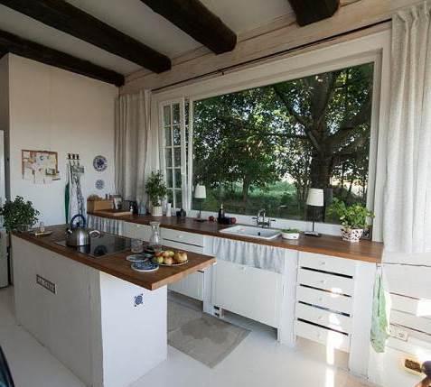 Идеально для кухни с окном